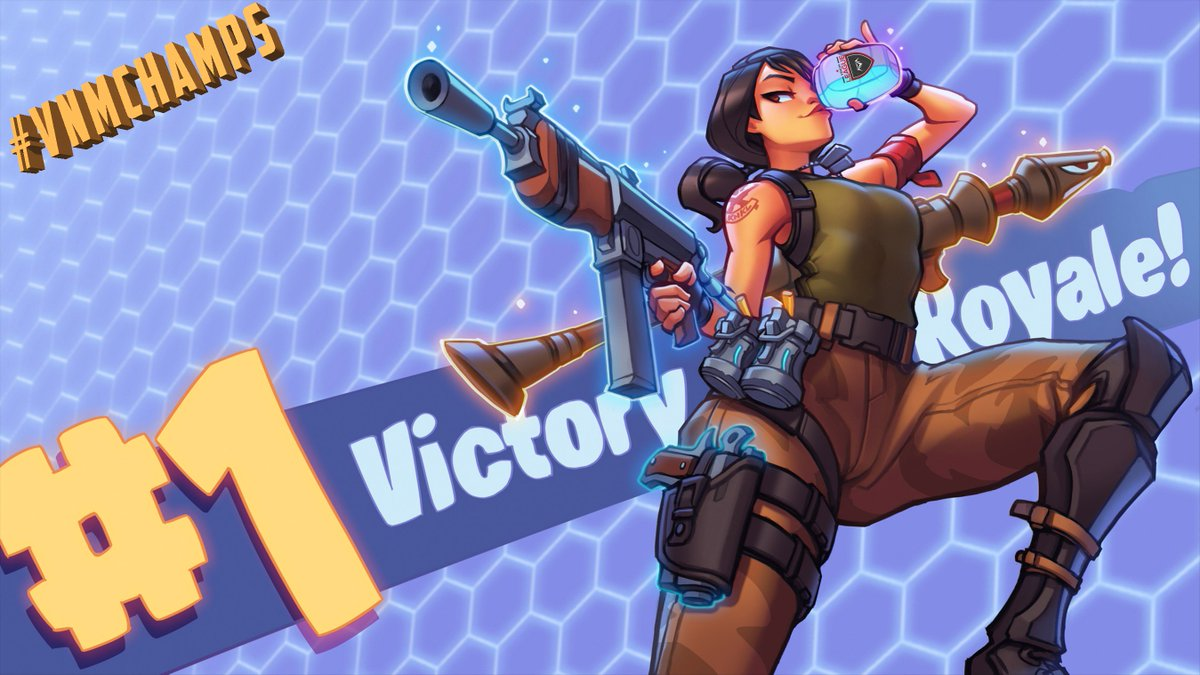 Congrats to our 2v2 #Fortnite All-Platforms - April 20🏆#vnmChamps  