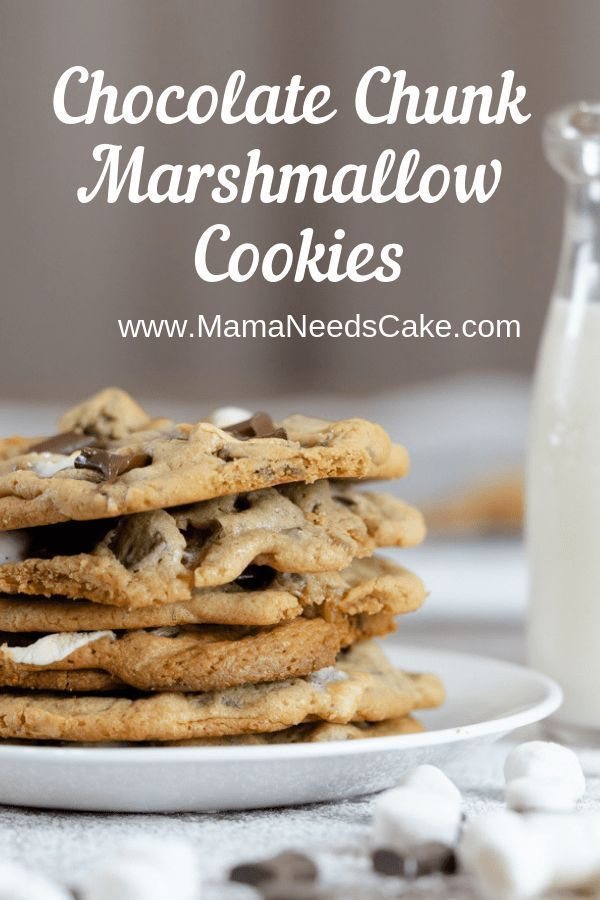 Just Pinned to Cookie & Biscuit Recipes: Chocolate Chunk Marshmallow Cookies (Chocolate Chip) - Mama Needs Cake  #chocolatechipcookies #chocolatechunk #cookies #recipes #recipeoftheday #cookierecipes #valentines #valentinesday #marshmallows #chocolatechi… http://bit.ly/2KUeh29