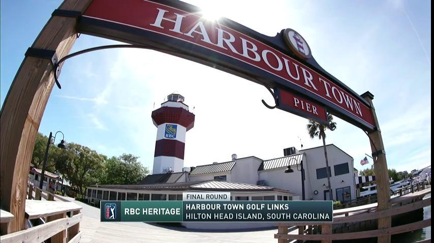 A gorgeous day. The Final Round of the @RBC_Heritage is NOW on CBS.
