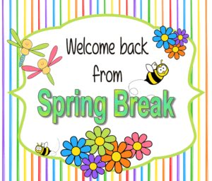 Hope everyone had a safe and restful break. Can't wait to see everyone tomorrow (Monday!) -ready to 'SPRING' into learning! <a target='_blank' href='https://t.co/cDo4TsuOko'>https://t.co/cDo4TsuOko</a>