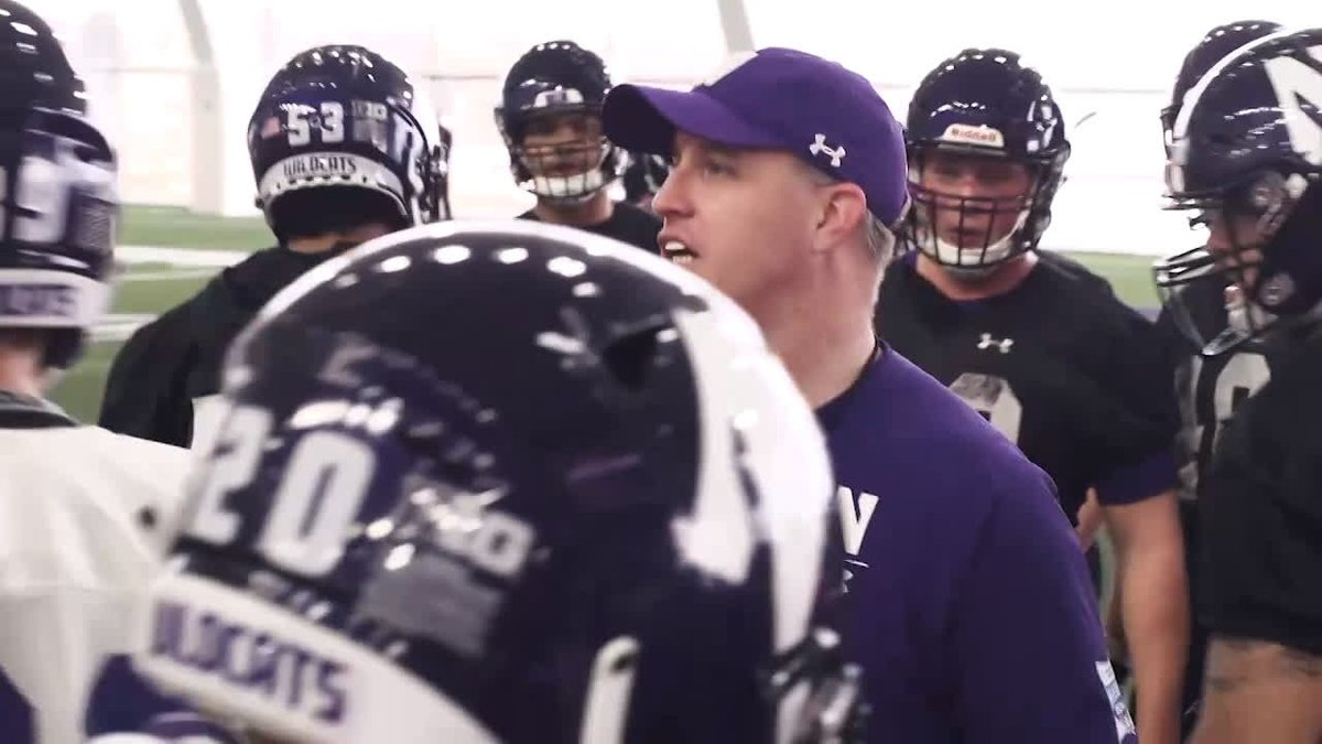 """""""Not that you weren't motivated before, now you're just totally obsessed with the wanting to get back and win that game.""""  - @coachfitz51, on @NUFBFamily mindset after making @B1Gfootball title game"""