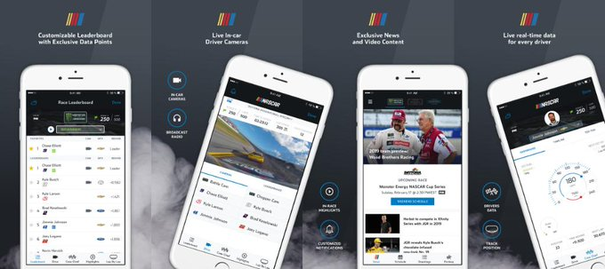 Live in-car cameras, leaderboards and more for @TalladegaSuperS — all at your fingertips. Download today, and don't miss a second of the action.   📱: https://t.co/LH5B4
