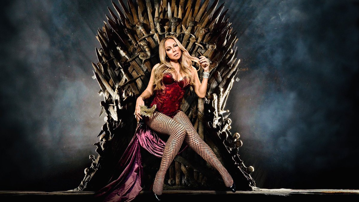 All Hail @MariahCarey Queen of the Seven Octaves!👸🏼🎤🎼🎵🎶