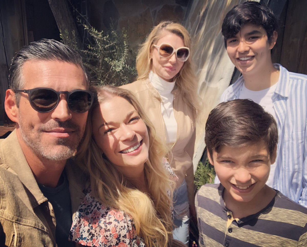 Happy Easter LovEs! Our awkward family Easter 🐣 photo/Christmas card?! LOL Today has been a wonderful day. Many blessings to your family from all of us! #easter @EddieCibrian @brandiglanville