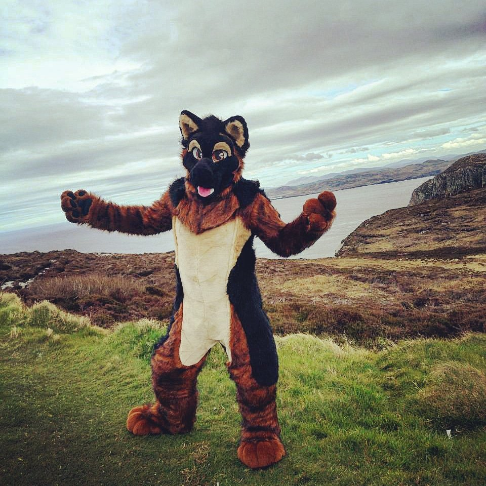 The hills of Donegal really are where I feel is home, and when you are a dog.. you need walkies... So combine the two is just bliss... I got asked a few times now what fursuiting is like... It&#39;s awesome  <br>http://pic.twitter.com/oxLZ4OqmOC