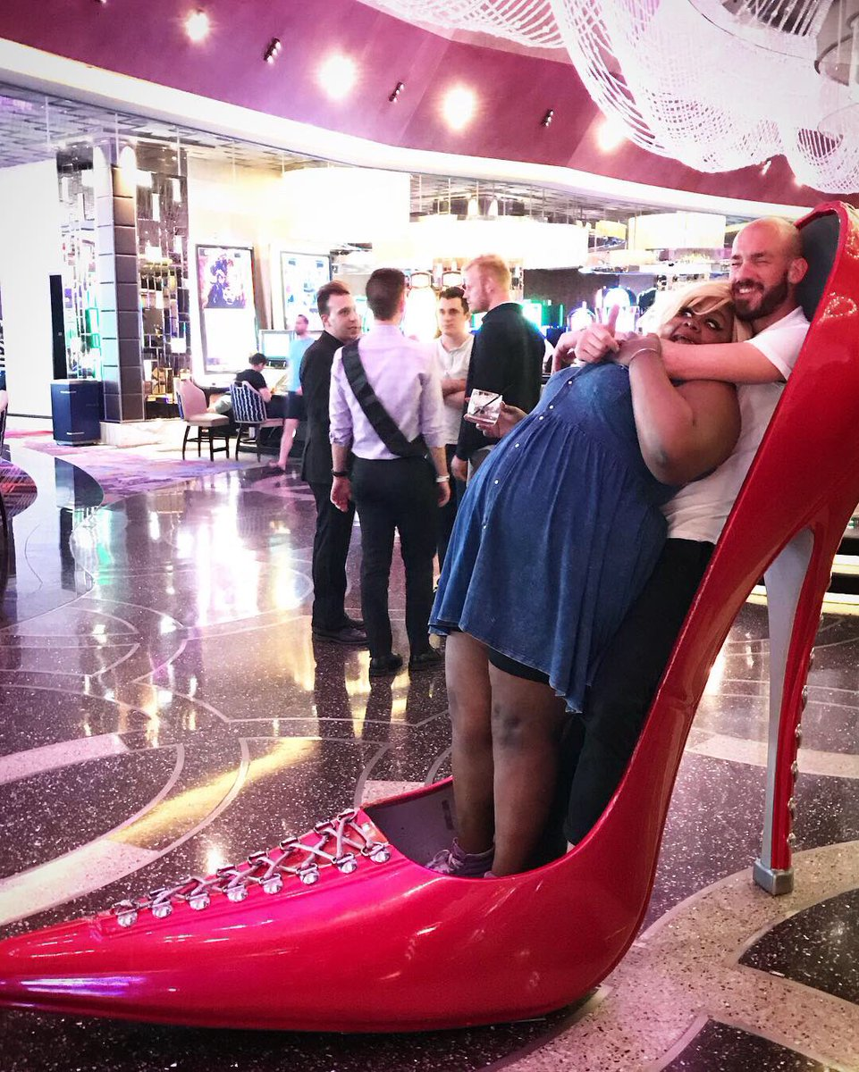 Dear https://twitter.com last night in Vegas I met a man in a shoe. I think is name is Patrick he's English and lives in New Jersey? I want his dick near me... so I guess I'm asking the people of https://twitter.com to find him for me.