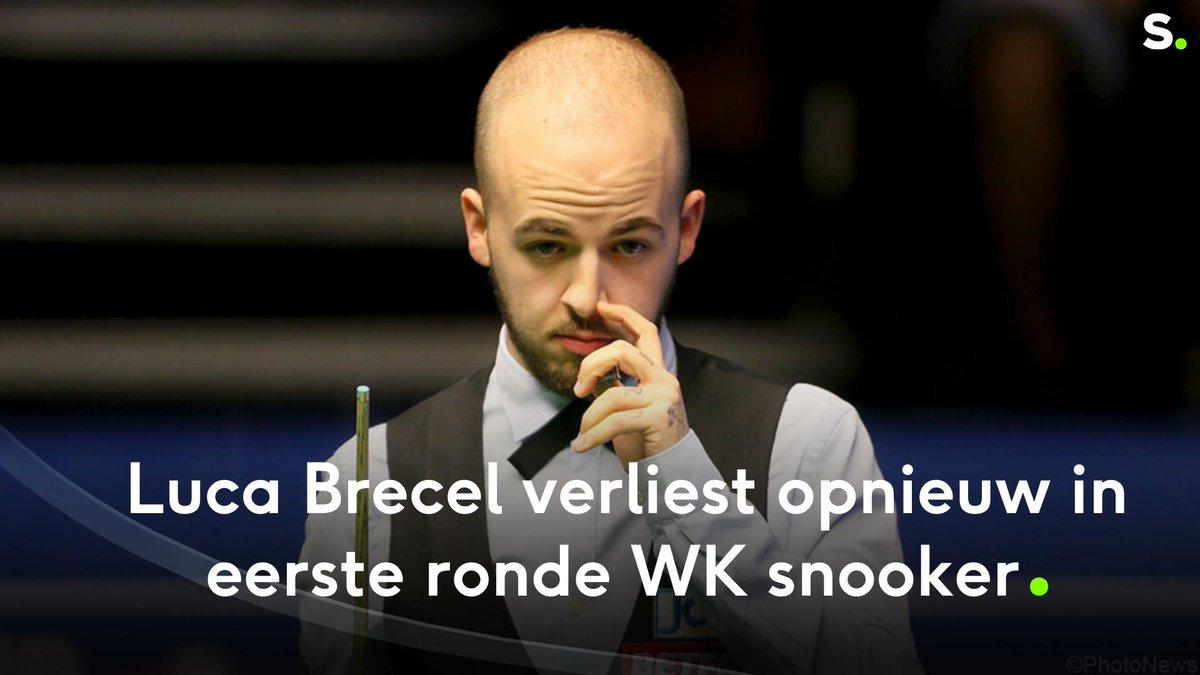 Wat een ontgoocheling voor Luca Brecel: hij geeft voorsprong uit handen in beslissende frame op WK snooker  https://api.sporza.be/permalink/web/articles/1555510890707… #snooker