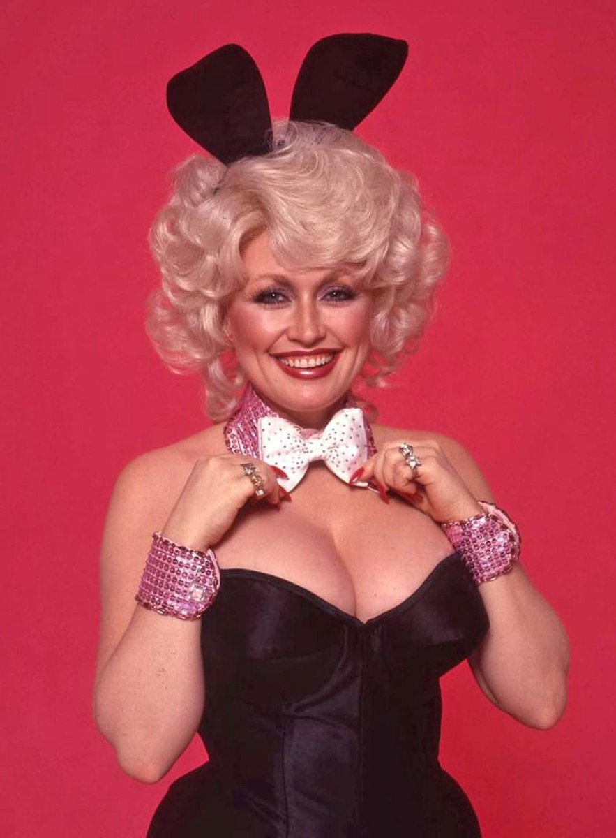 It's Easter which means it's the perfect time to praise the Bunny Queen, Dolly Parton. (For 1978 Playboy) <br>http://pic.twitter.com/GJ9tE4wGaZ