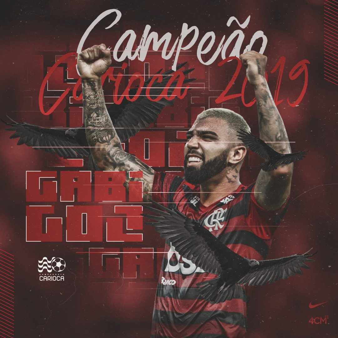Gabriel Barbosa's photo on É CAMPEÃO
