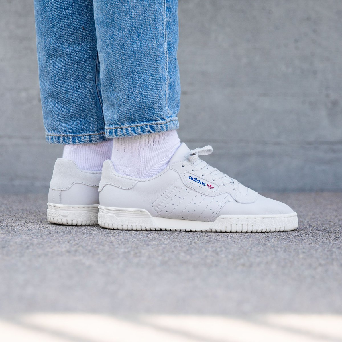5d5b29b3 OUT NOW 🔥 Adidas Powerphase - Grey One/Grey One/Off White link ...