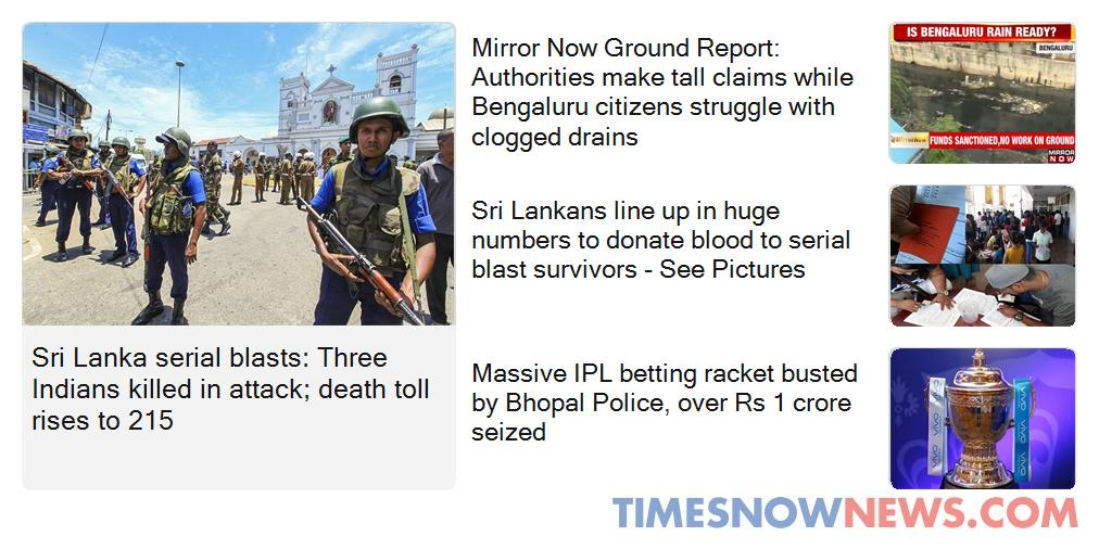Here's the Top News right now, from around the world. For detailed coverage and expert analysis of news that matters, visit: https://www.timesnownews.com