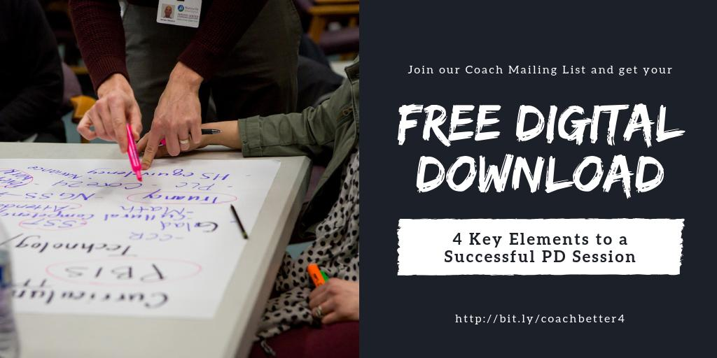 Did you know we publish a weekly newsletter written for #educoaches, by #instructionalcoaches?! Receive #profdev weekly in your inbox PLUS this free digital download to support you in designing successful professional learning!  #EduroLearning #isedcoach  http://bit.ly/coachbetter4