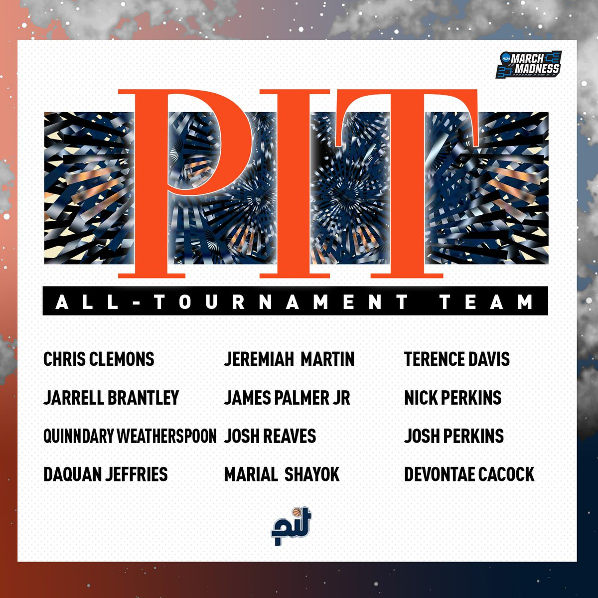 Congrats to these seniors on earning a spot on the 2019 @PIT_Basketball All-Tournament Team! <br>http://pic.twitter.com/7vXjga335J
