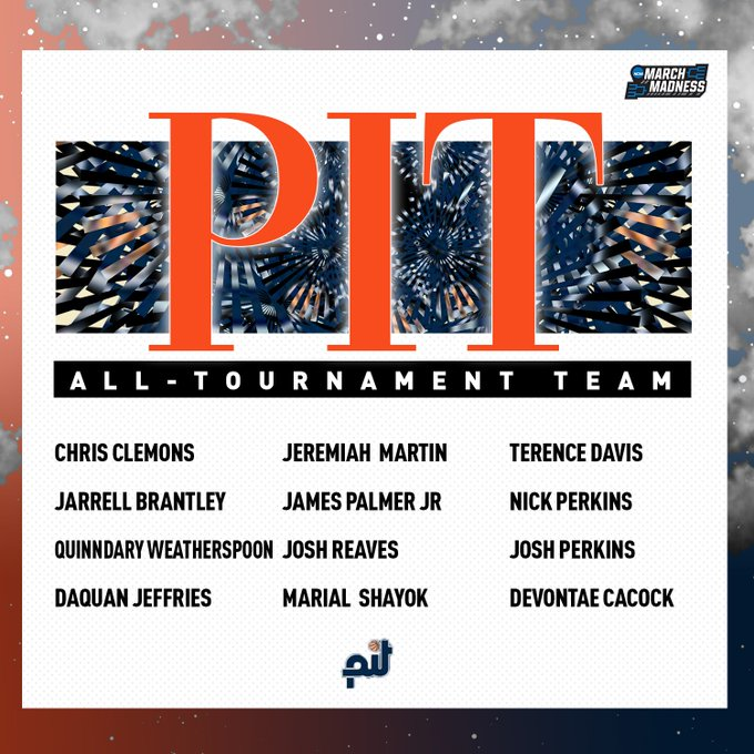 Congrats to these seniors on earning a spot on the 2019 @PIT_Basketball All-Tournament Team! �