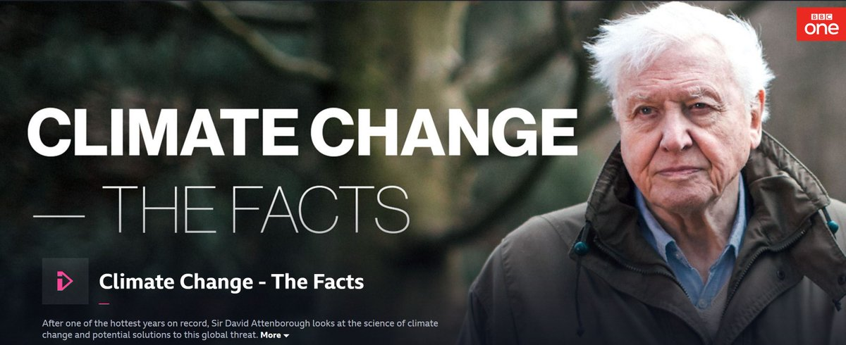Image result for Climate Change: The Facts iplayer