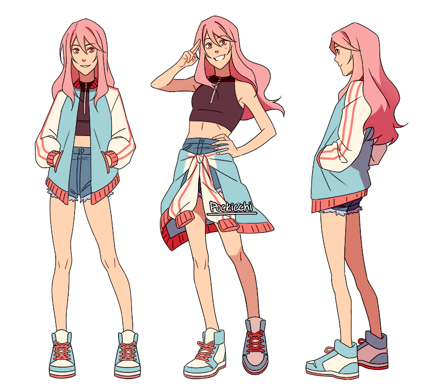 this is lisa !!! shes my pink sunshine girl and she beats up fuccbois 😤👊
