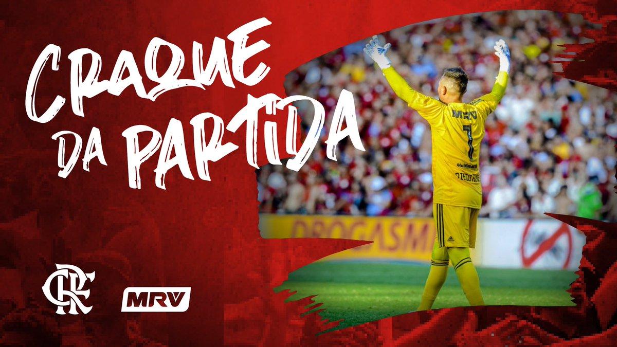 RT @Flamengo: E o #CraqueDaPartidaMRV eleito pela Nação foi o goleiro Diego Alves! Paredão! 🧤❤️🖤 #FestaNaFavela https://t.co/Vrkz2r1GKg