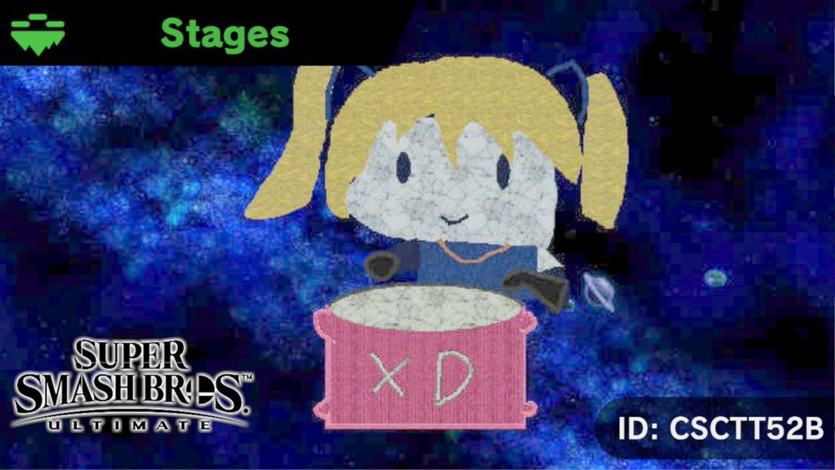 It&#39;s done and its GARBO #StageSmashBros #SmashBros #NintendoSwitch <br>http://pic.twitter.com/WDeIGKtbzI
