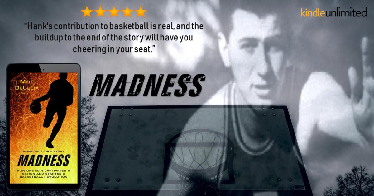 #Sportsfan or not... you'll love MADNESS The story of the man who changed #BASKETBALL #mustread 🏀 http://getbook.at/madnesskindle  Read it #FREE with #KindleUnlimited  @mdeluciabooks  #IARTG #NBA #bookboost #kindlebooks #MarchMadness