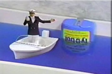 Today in 1978, the Ty-D-Bol Man tragically capsizes during your dad's morning dump.