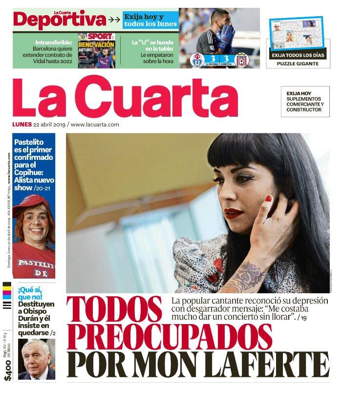 Media Tweets by La Cuarta (@lacuarta) | Twitter