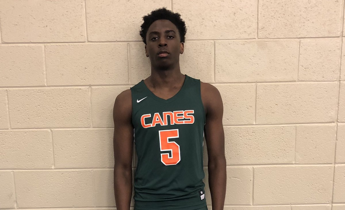 Johnathan Moliere (Creekside) is a player college coaches should be tracking in the 2020 class. A physical 6'7 Forward that is relentless on the boards. He's visited Fam U & heard from UNF   @CanesGa
