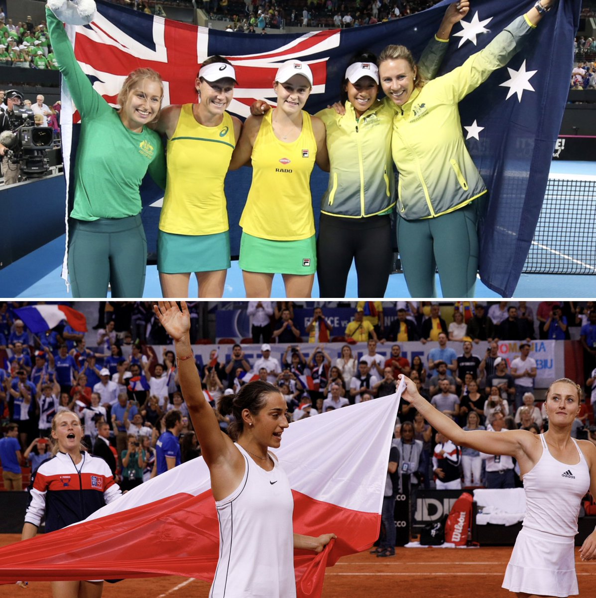 November will be epic 🇦🇺 🇫🇷 Bring on the 2019 @FedCup final between Australia and France: bit.ly/2IIQRd4.