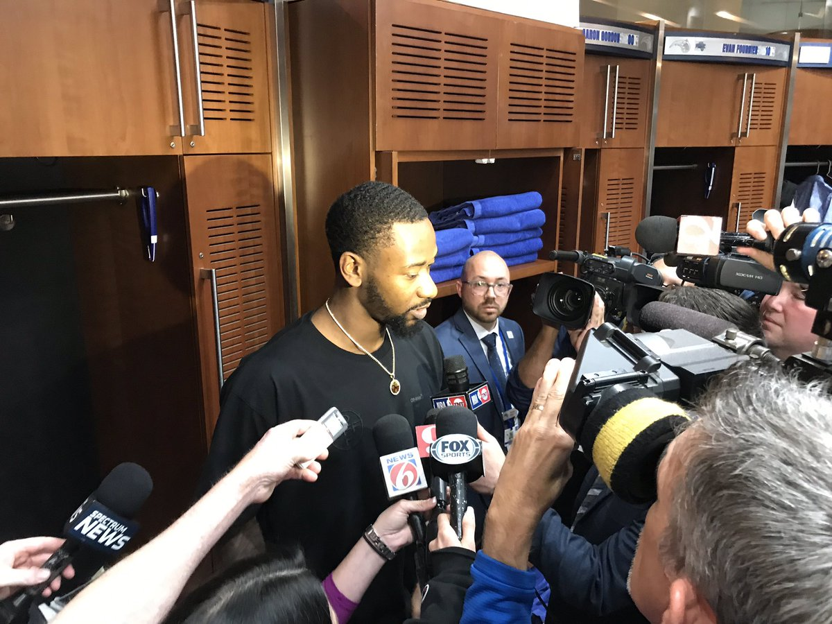 """Terrence Ross says """"we're not dead yet.""""  #Magic #NBAPlayoffs"""