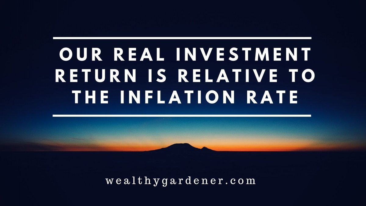 "Life Lessons on Prosperity between Father and Son  #wealthy #successquotes #positive #mindset   ""Our real investment return is relative to the inflation rate.""  ––the wealthy gardener"