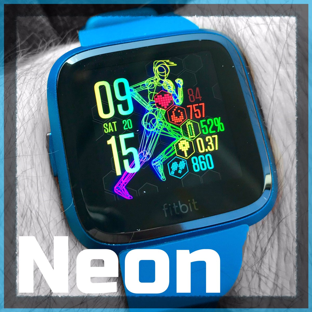 🏃🏻‍♂️Neon 🏃🏻‍♀️now available for #fitbitversalite #fitbit #fitbitversa #GOT #made4fitbit #steps #walking #fitness #FitnessMotivation