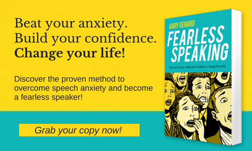 SPEAKING FEAR? https://hubs.ly/H0hxvrn0  — FEARLESS SPEAKING: THE 12-DAY SELF-GUIDED COURSE to Eliminate Stage Fright. @GaryGenard #fearless #motivation #PublicSpeakingTraining #breathing #calm #motivational #leadership #keynote #inspiration #PublicSpeaking #IT #speaking #CEO