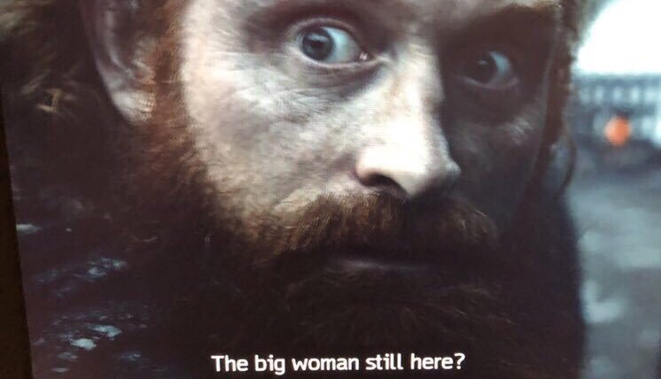 #GamefThrones #tormund He had his priorities straight as the world is ending haha<br>http://pic.twitter.com/CKOiCG3Rqc