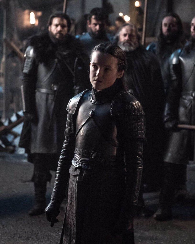 IF LYANNA MORMONT DOESNT SURVIVE WE RIOT #GamefThrones <br>http://pic.twitter.com/btnqih8xVI