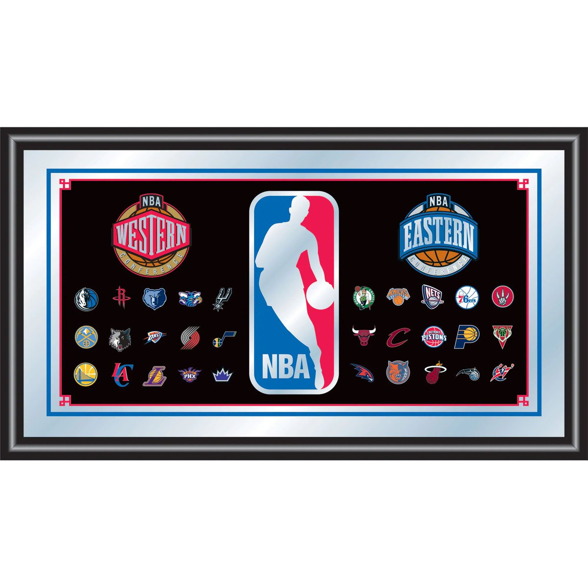 NBA Framed Logo Mirror https://officialgametime.tumblr.com/post/184355174461/nba-framed-logo-mirror …  #nba #basketball #nfl #sports #lebronjames #nike #lakers #follow #ballislife #like #fitness #lebron #sport #love #warriors #hiphop #music #bball #dunk #memes #jordan