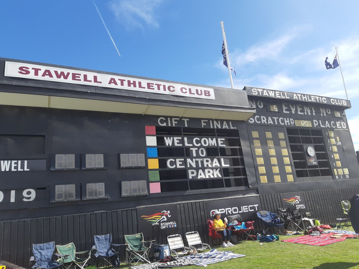 The Stawell scoreboard @LesEverettFreo