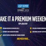 Image for the Tweet beginning: Premium tickets to #IEM Sydney