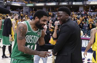 Basketball: Celtics sweep Pacers; Warriors, Raptors take 3-1 => https://t.co/D9TiahpG52 #basketball https://t.co/3n24oMjWZ5