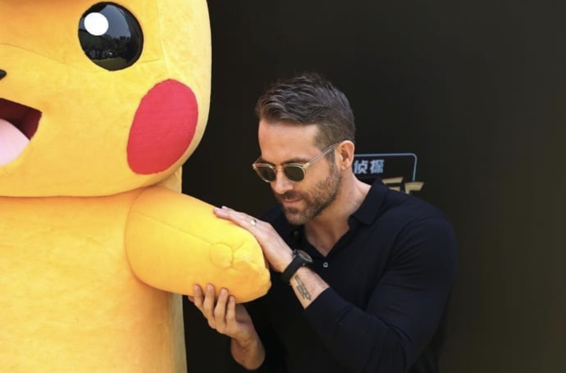Ryan Reynolds's photo on #DetectivePikachu