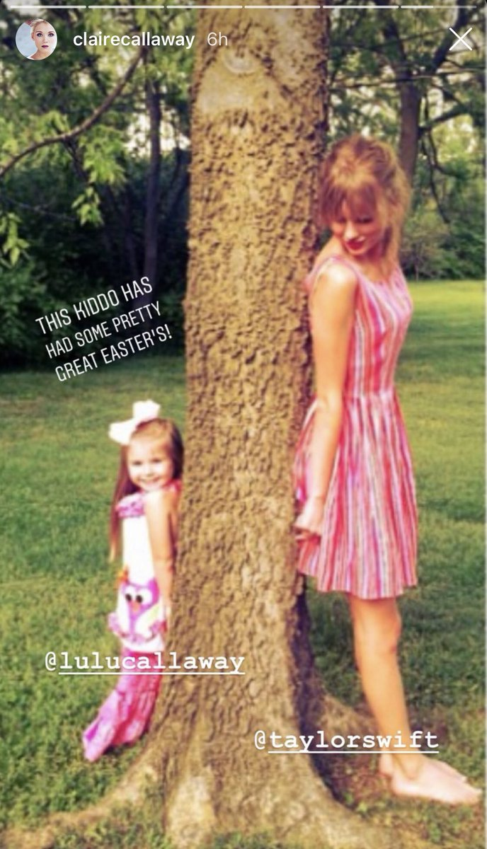 Taylor Swift News On Twitter Ig Taylor S Old Dancer And Friend Claire Callaway Posted An Easter Throwback On Her Instagram Story Of Taylor With Her Daughter Lulu Https T Co 1rdo5chxb0