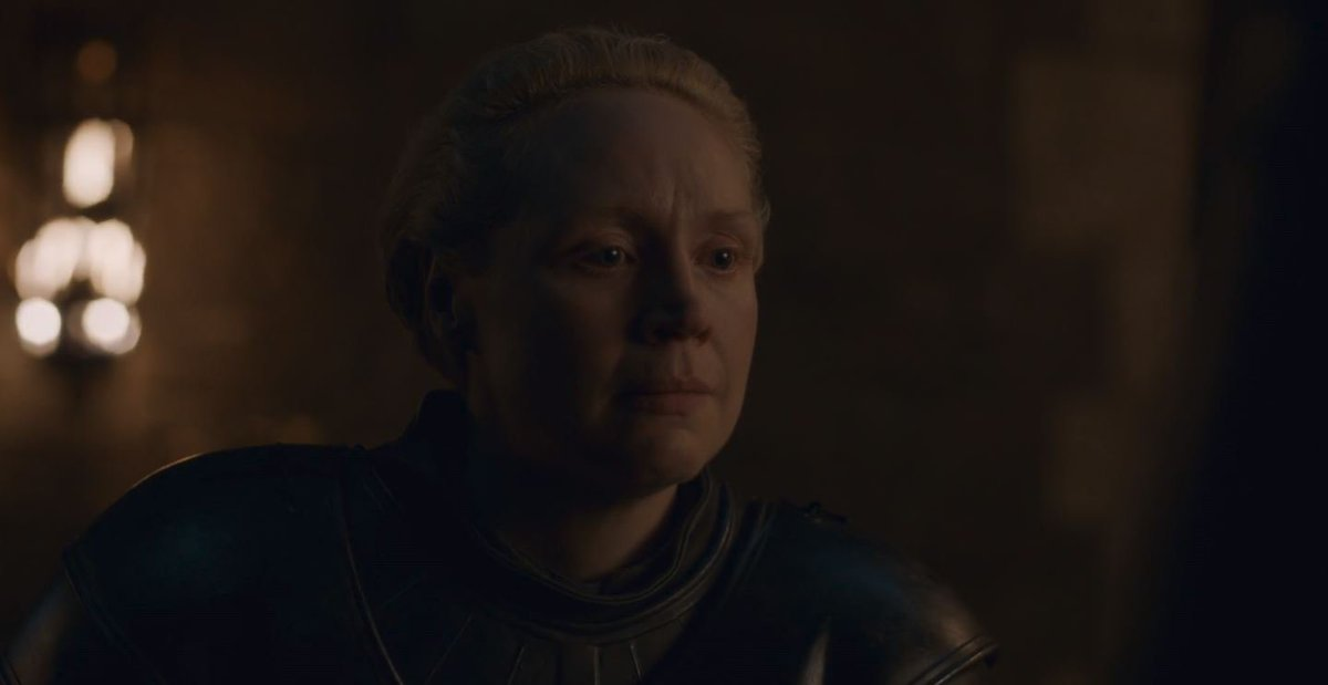 A massive shout out to @lovegwendoline as well who did an incredible job as Brienne in this episode. Her acting was out of this world, and showing the walls that Brienne has built around herself melting into tears. A person that never believed they would get their dream and did,