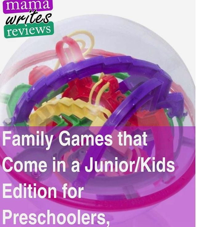mamawritesreviews.com/post/719 If your family is anything like ours, you love to play games together. Were still in that phase of life where we want to play board games, but theres so many games that our young boys just cant handle yet! Thankfully, there are a TON of game…