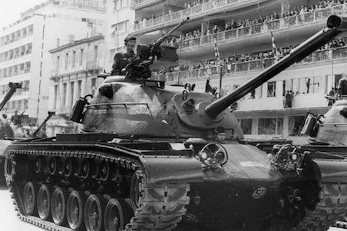 On this day in 1967, the CIA-backed a military coup in Greece which put in power a fascist junta. The junta instituted martial law, beat, tortured & murdered thousands, & arrested 8,000 people in its first month in power.