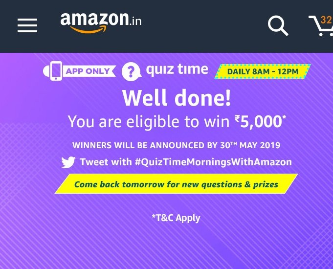Best to play in amazon #QuizTimeMorningsWithAmazon<br>http://pic.twitter.com/hK2wzIl4DN