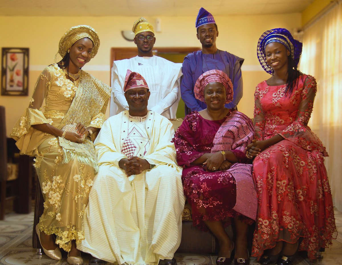 Mike Bamiloye Celebrates Easter With Cute Family Photo