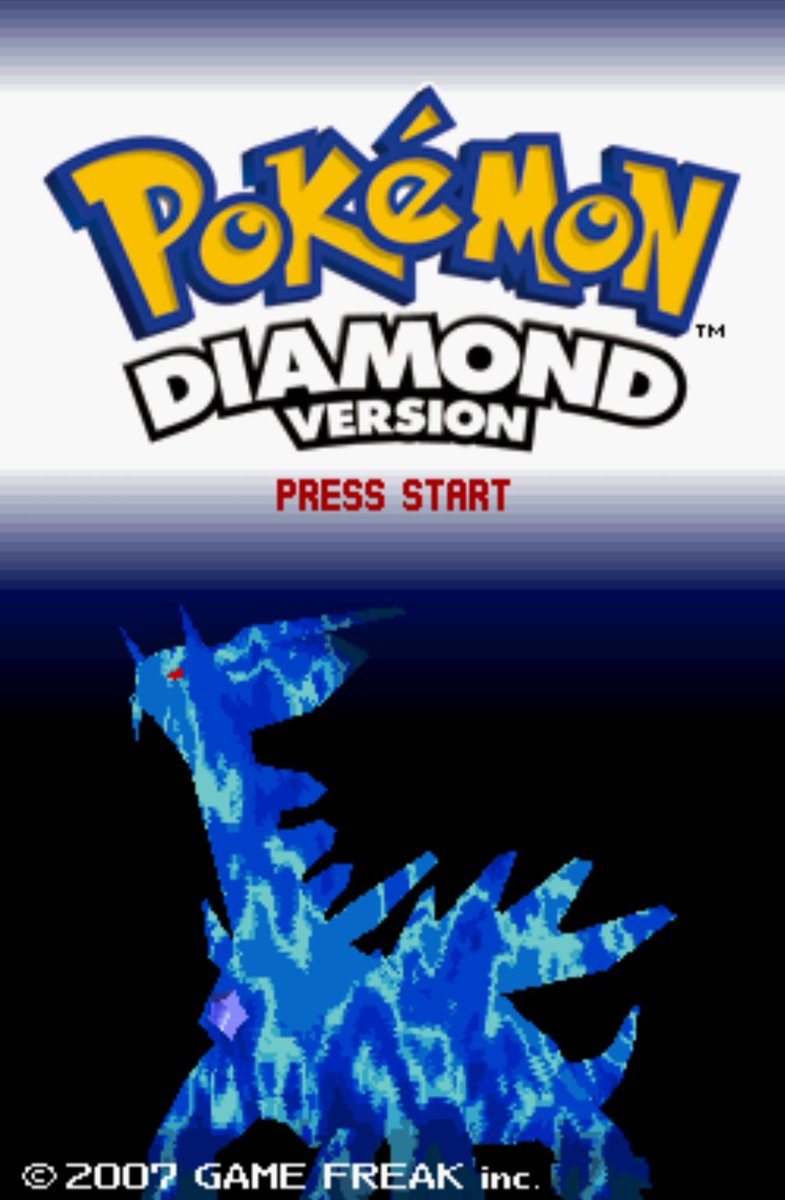 Pokemon Diamond and Pearl for the NDS were released on this day in America, 12 years ago (2007)
