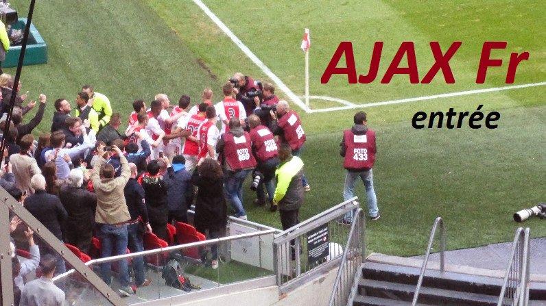 #ajax #ajaxfr Site des supporters francophones de l'Ajax Amsterdam http://www.ajaxfr.com