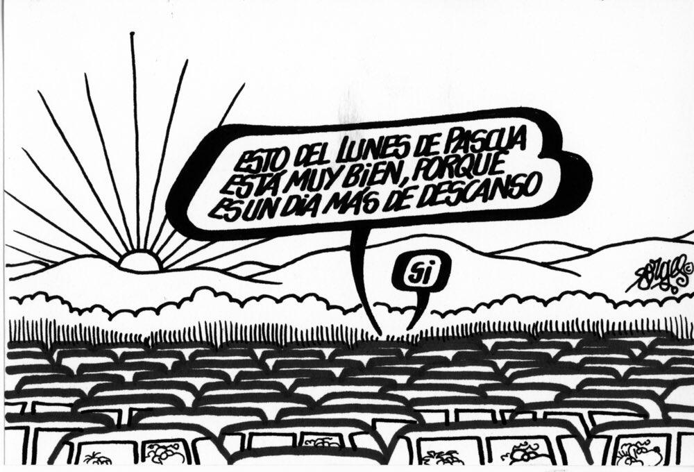 Viñeta publicada en 1987, en Diario16