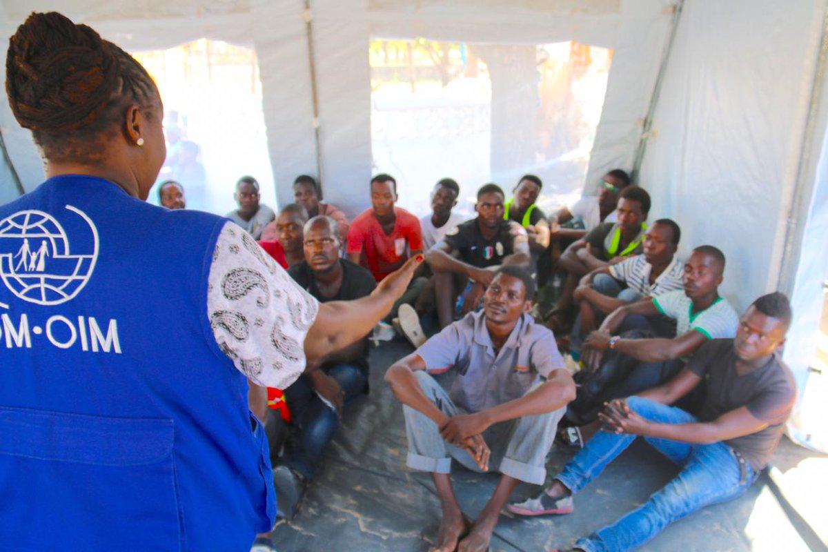 Zero tolerance for sexual abuse and exploitation! That is why all IOM staff and daily workers are being trained.