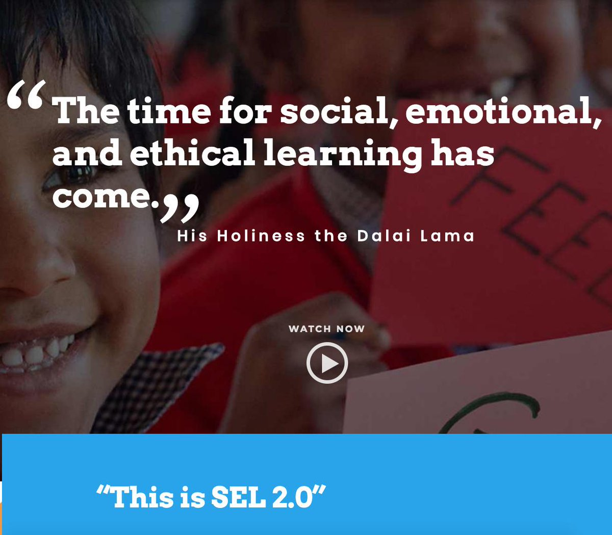 In case you missed it!Emory University and the Dalai Lama launch free tools and resources to foster the development of emotional, social and ethical intelligence http://bit.ly/2PjFQ3g