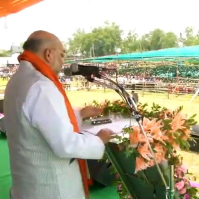 Mamata has made 'Sonar Bengal bankrupt'.  PM Shri @narendramodi ji will make it 'Sonar Bengal again'.  - Shri @AmitShah ji  #BharatBoleNaMoNaMo @poonam_mahajan